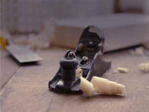 madera, carpintería, cepillo