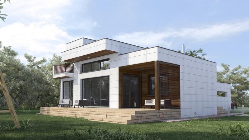 casas modernas y eficientes